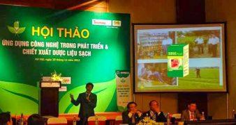 Hội thảo ứng dụng công nghệ trong phát triển và chiết xuất dược liệu sạch